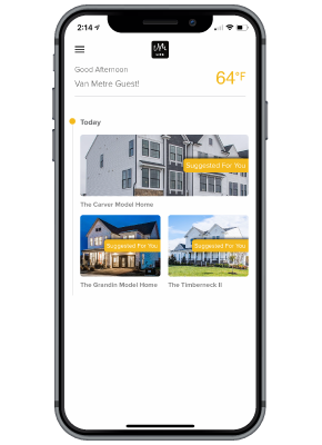 van-metre-life-app-screen-2-home